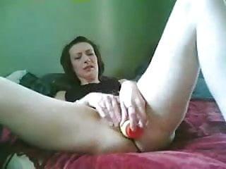 She Cums On Her Dildo Self Shot
