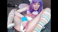 cute fairy masturbate