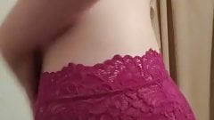Huge Tits Teen stripping down