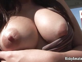 Survivor babes bikinis images - Hot girl next door strips her bikini off on the beach