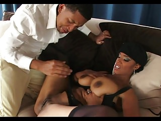 Busty Ebony Call Girl
