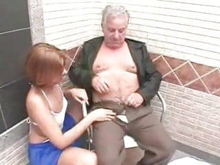 Young whore makes grandpa feel more alive than ever