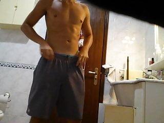 Show off strip tease full naked
