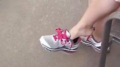 Dangling Sneakers
