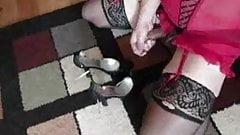 Jerkin Off - In sexy lingerie