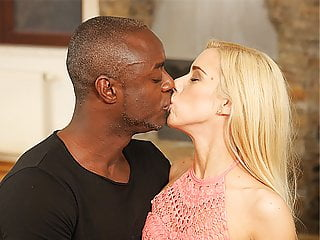 BLACK4K. Cute blonde girl really loves BBC of her new BF