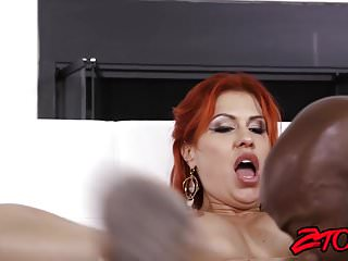 Preview 3 of Ginger milf Savana Styles drilled by bbc