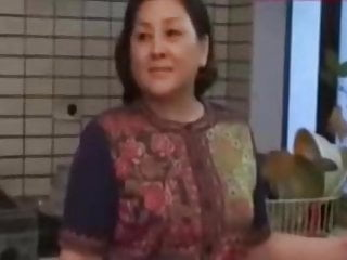 JapaneseBBW Mature mother and not her son