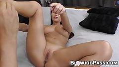 Busty minx Alyssia Kent fucks big cock before cumshot