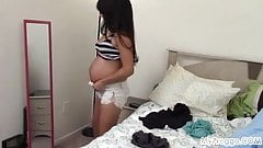Leticia Models Outfits and Deals with Contractions!