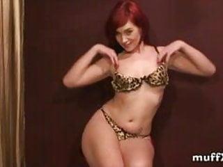 Felicia is naughty red hair slut