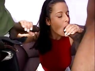Euro girls love big black cocks #11
