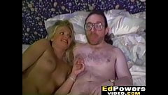 Ed enjoys in hot threesome with hot babes Bonita and Harley