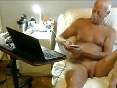 old man naked on cam