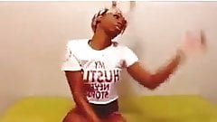 sexy black girl dancing.mp4