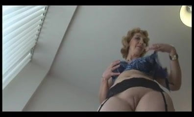 Free download & watch mature english blonde babe in stockings upskirt tease         porn movies