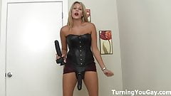 Making you suck cock!