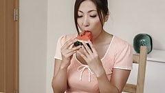 Asian wife, Mirei Yokoyama, full blowj - More at Slurpjp.com