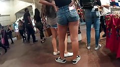 Sexy teen Latina with a plump ass