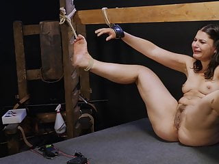 Punished Little Whore Kicking Around
