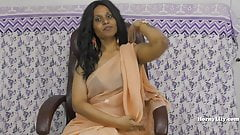 Dominating Indian sexy boss fu