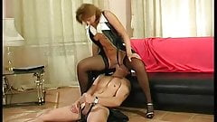Guy and hot mature woman