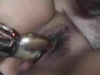 arab husband licks his wife pussy & fuck her with dildo