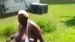 Aunty Ice bucket challege