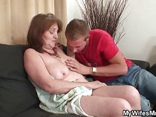 He bangs his mother in law after shower