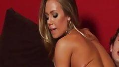 Hot erotic blonde babe