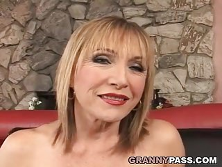 Preview 1 of Busty Cougar Loves Hard Fucking With Young Cock