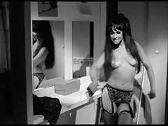 LOUIE LOUIE - vintage 60's go-go dancer stockings strip