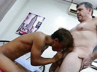Preview 3 of Daddy Fucks Asian Boy Rizal Bareback