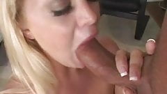Pretty Blonde Holly Morgan Deep Throats Scott Hancock