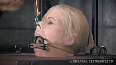 Busty MILF Orgasmed In Device Bondage
