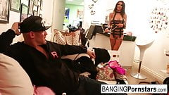 Pornstar Romi Rain gets a good fucking after her photo shoot