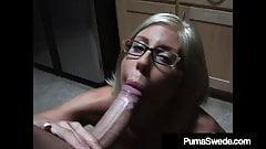 Busty Dirty Talking Puma Swede Sucks On A Big Cock POV!