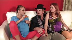 Evan Stone Gives Alyssa And Miss Marie Much Needed Dick