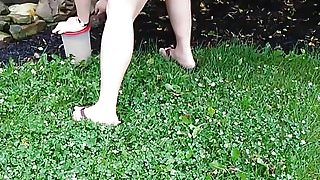 Short shorts flower garden
